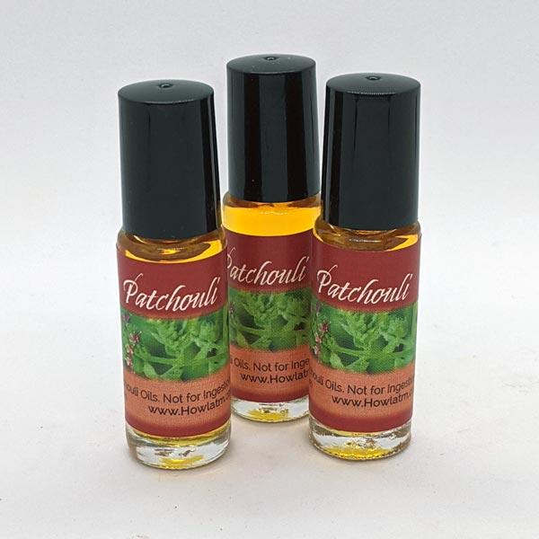 Patchouli Oil 1 dram roll-on bottles