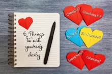 6 things we can do each day